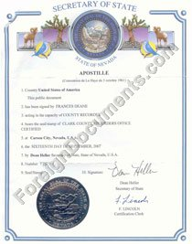 Translation of us marriage certificate issued in nevada into apostille usa nevada yelopaper Choice Image