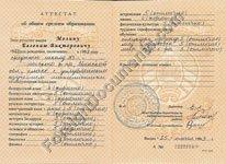 Certified Translation Of Belarus High School Certificatesdiplomas