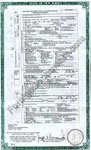 Birth certificate translated English to Russian, issued in New Jersey USA