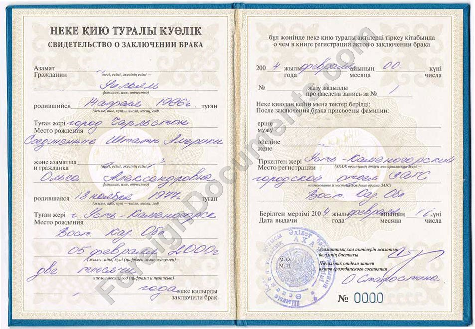 Certified Translation Of Marriage Certificates From Russia Ukraine