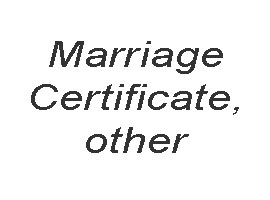 Marriage certificate transation. Free qoute