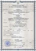 Divorce certificate russian translation services
